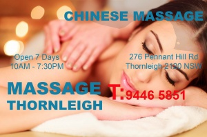 Chinese Massage Thornleigh